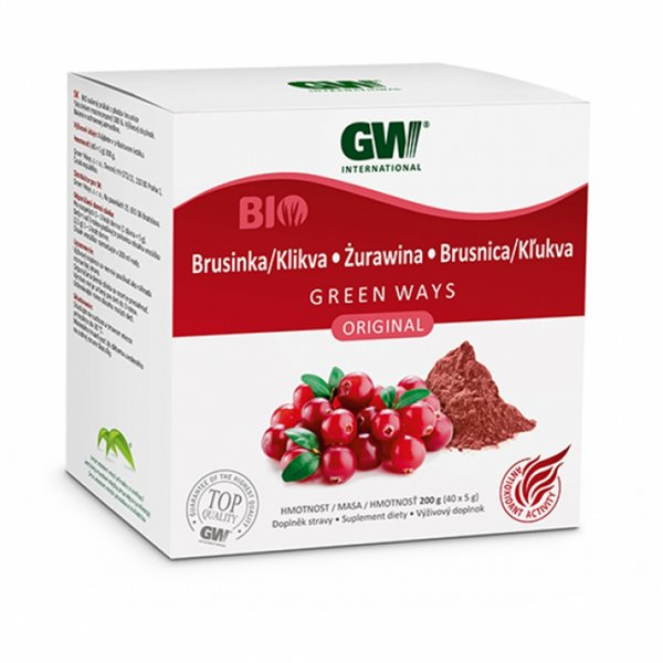 Brusinka Green Ways v prášku (40x5g)